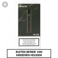 smok fit e-sigaret pod starterskit gunmetal 250mah