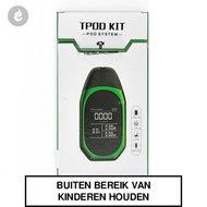 teslacigs tpod e-sigaret e-smoker startset 2ml 500mah groen