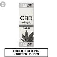 Canoil cbd e-liquid base nicotinevrij 200mg CBD
