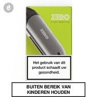 vaporesso zero pod e-sigaret starterskit zilver
