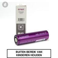 effest 20700 batterij 3100mah 30ampere