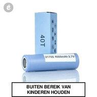 Samsung INR 40T 21700 Batterij 4000mAh 30ampere